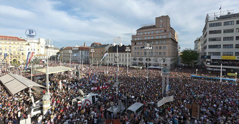 Desetci tisuća građana na prosvjedima pokazali da Hrvatska može bolje!