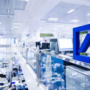 Ansichten Handelsraum der Deutschen Bank in Frankfurt am Main am Donnerstag, 10.12.2009