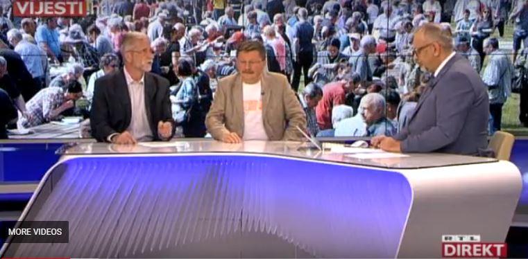 RTL Direkt, 1.5.2018. – Vilim Ribić i Krešimir Sever povodom 1. svibnja