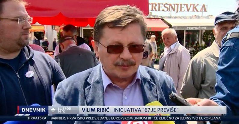 67 je previše u medijima, 8.5.2019. – HRT, NOVA, RTL, N1